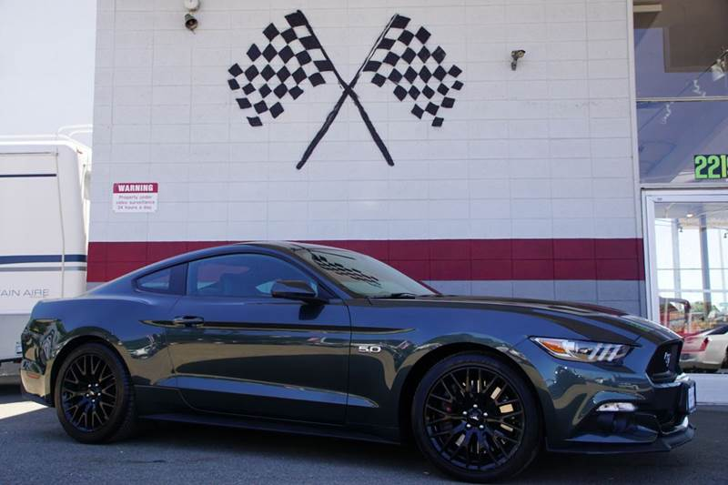 2015 FORD MUSTANG GT PREMIUM 2DR FASTBACK magnetic metallic 2-stage unlocking doors abs - 4-whee
