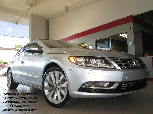 2013 VOLKSWAGEN CC VR6 LUX 4DR SEDAN reflex silver metallic this is a very nice volkswagen cc spo