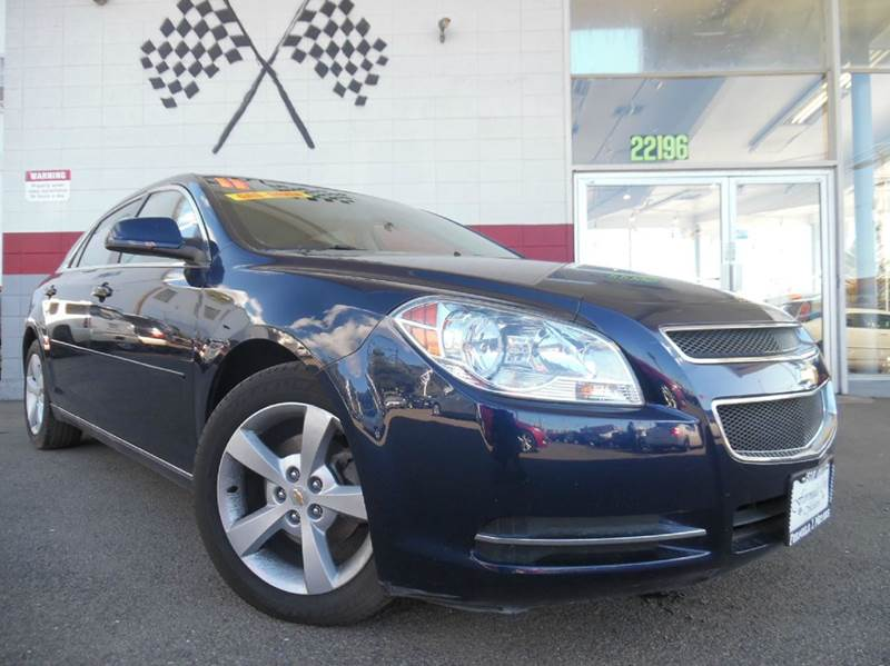 2011 CHEVROLET MALIBU LT 4DR SEDAN W1LT blue leather interior with a beautiful exterior and grea