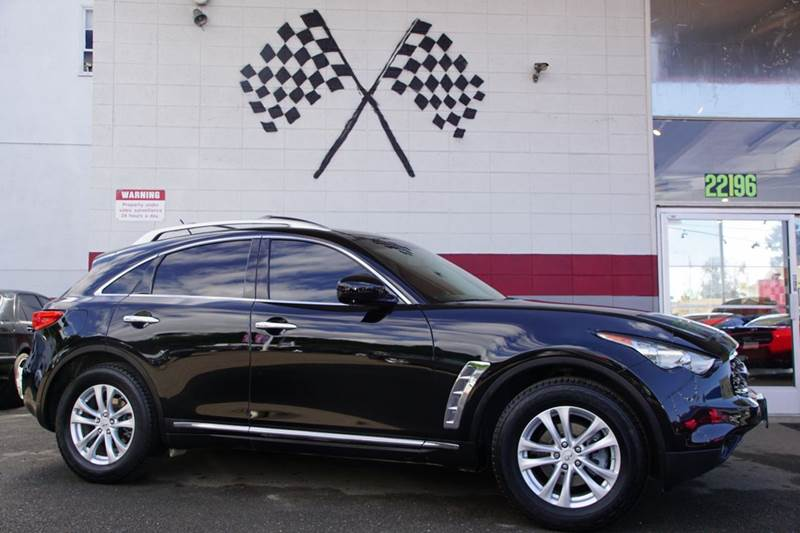 2011 INFINITI FX35 BASE 4DR SUV black obsidian 2-stage unlocking doors abs - 4-wheel active head