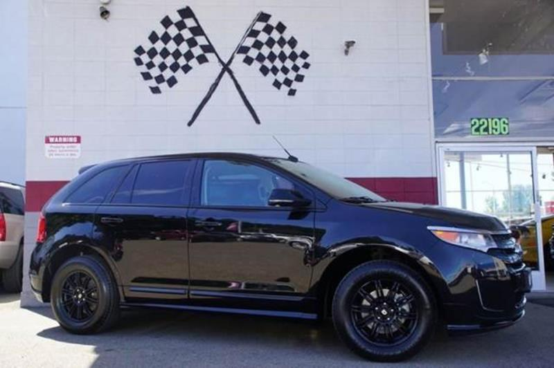 2013 FORD EDGE SPORT 4DR SUV tuxedo black metallic powerful fun and ready for anything meet this