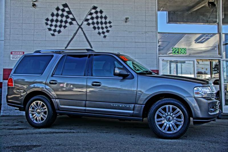 2012 LINCOLN NAVIGATOR BASE 4X2 4DR SUV sterling gray metallic offering both prestige and power