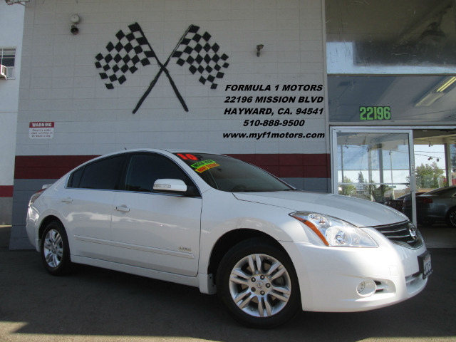 2010 NISSAN ALTIMA HYBRID BASE 4DR SEDAN white 2-stage unlocking - remote abs - 4-wheel air filt
