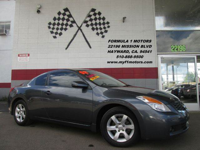 2008 NISSAN ALTIMA 25 S 2DR COUPE CVT grey this is a very nice nissan altima two door coupe sup