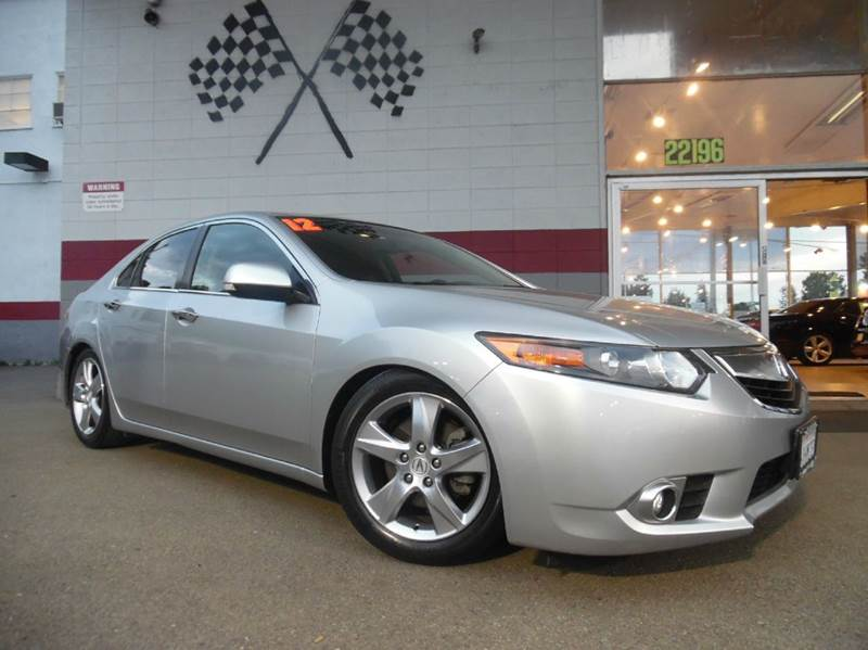 2012 ACURA TSX BASE 4DR SEDAN silver vin jh4cu2f43cc016363 beautiful silver exterior with a great