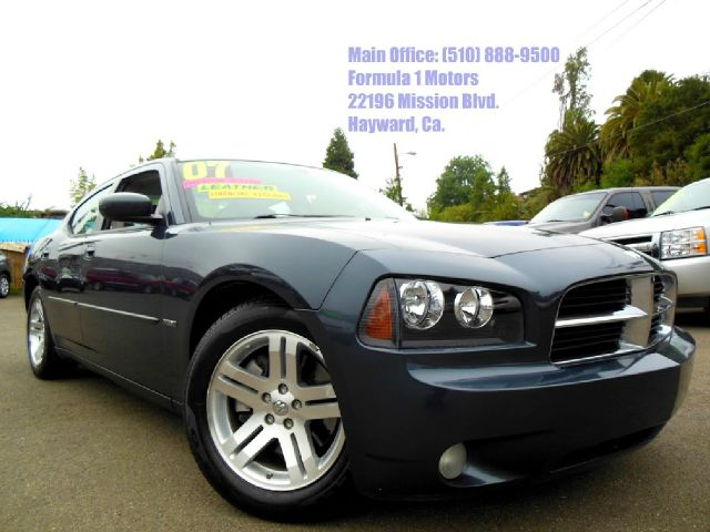 2007 DODGE CHARGER RT  1-OWNER gray 57l v8 hemi moon roof leather power seats1-owner c