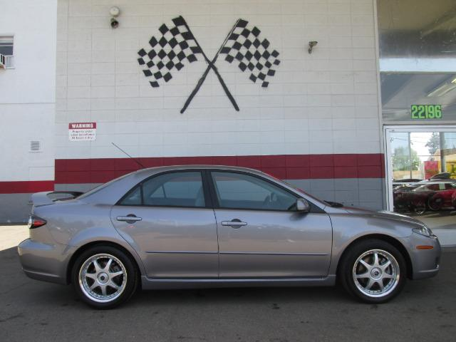 2008 MAZDA MAZDA6 I SPORT VALUE EDITION 4DR SEDAN gray this is a very nice mazda6 dependable car