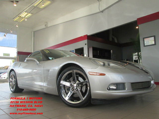 2005 CHEVROLET CORVETTE COUPE silver this is a rare to find 2005 corvette with very low miles its