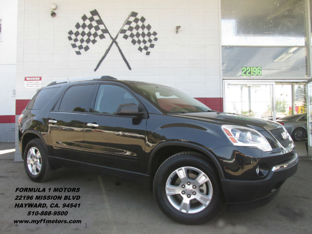 2011 GMC ACADIA SLT-2 4DR SUV black abs - 4-wheel alternator - 170 amps antenna type - mast ant