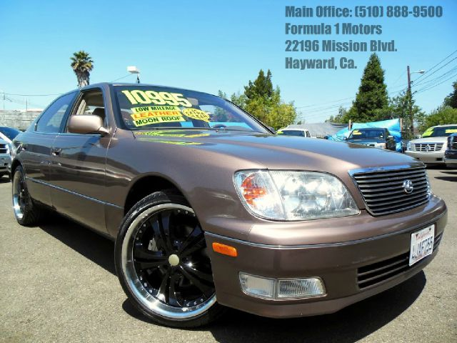 1999 LEXUS LS 400 gold 40l v8 automatic moon roof leather memory seats abs brakesair conditio