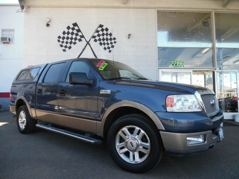 2004 FORD F-150 LARIAT 4DR SUPERCREW RWD STYLESI blue this is a very nice ford f-150 lariat edtio