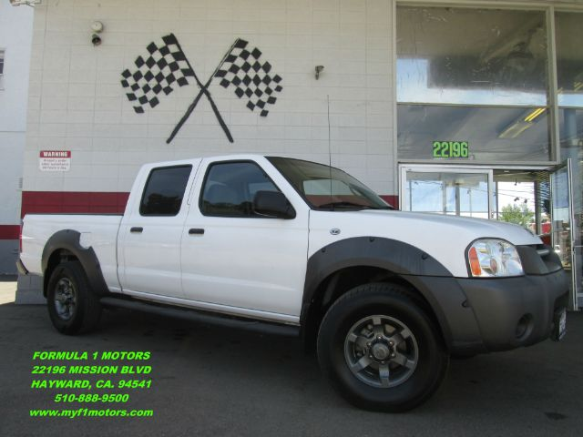 2002 NISSAN FRONTIER XE-V6 4DR CREW CAB 2WD LB white abs - 4-wheel axle ratio - 464 center cons