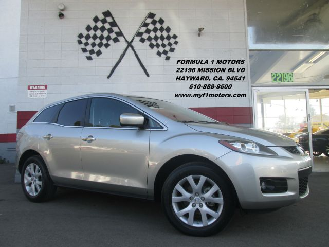 2008 MAZDA CX-7 GRAND TOURING 4DR SUV WLEV II E silver loaded - leather - moon roof - navigation