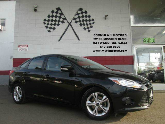 2013 FORD FOCUS SE 4DR SEDAN black this is a super clean ford focus its in great condition goo