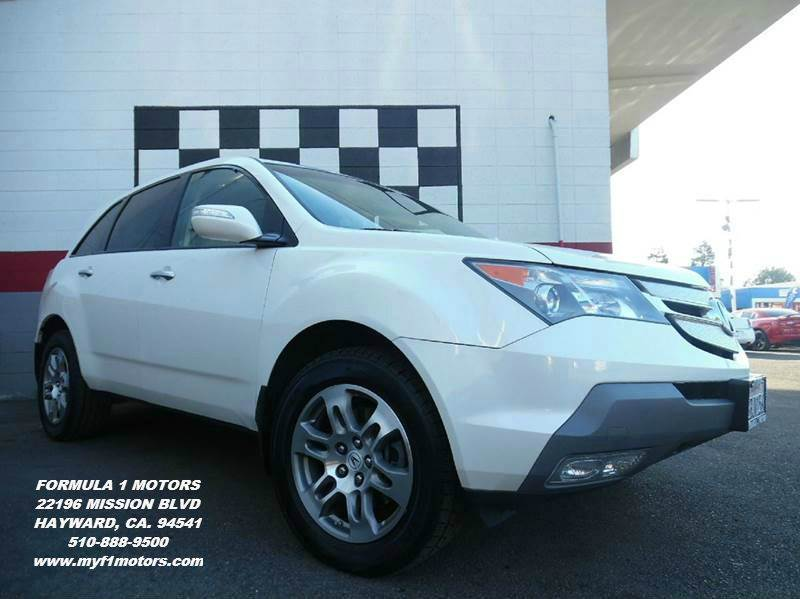 2007 ACURA MDX SH-AWD WTECH WRES 4DR SUV WTE white super clean acura mdx  loaded with leather