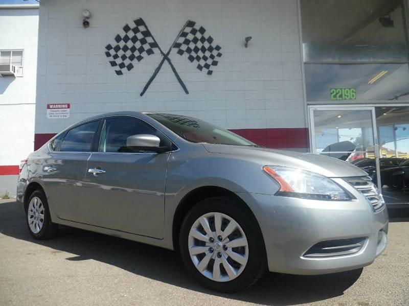 2014 NISSAN SENTRA SV 4DR SEDAN silver vin3n1ab7ap5ey307568 this car will save you so much on ga