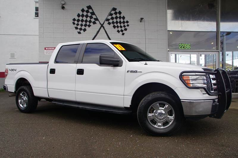 2010 FORD F-150 XLT 4X4 4DR SUPERCREW STYLESIDE oxford white vin 1ftfw1ev1afa58233 amazing work