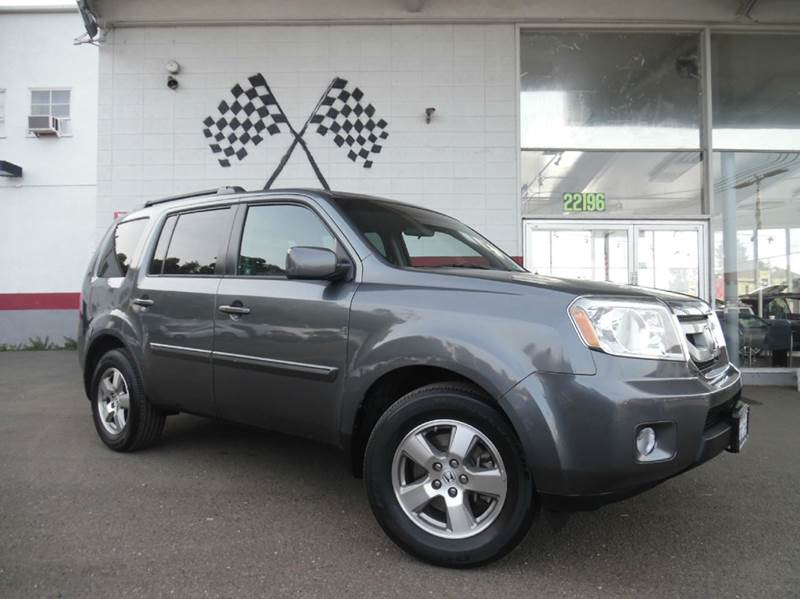 2011 HONDA PILOT EX 4DR SUV grey vin 5fnyf3h47bb053924 great family vehicle with tons of space an