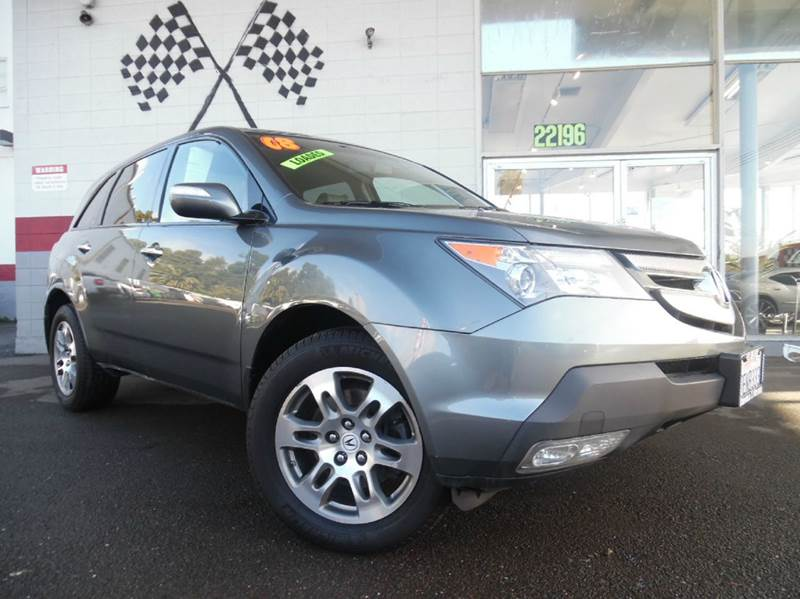 2008 ACURA MDX SH-AWD WTECH 4DR SUV WTECHNOLO gray great family car and in great condition su