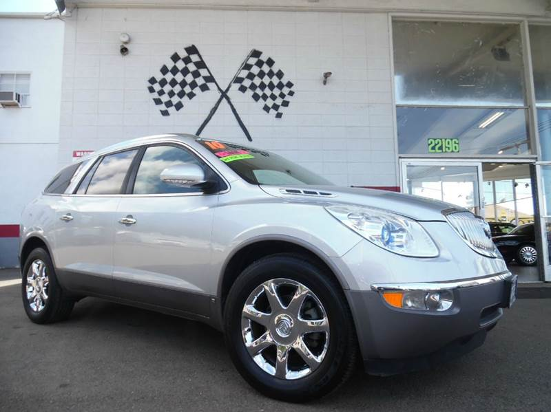 2010 BUICK ENCLAVE CXL 4DR SUV W1XL silver super clean buick enclave gorgeous black leather inte
