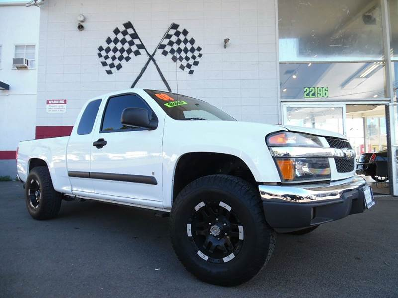 2008 CHEVROLET COLORADO LT 4X2 EXTENDED CAB 4DR white this is a very nice chevy colorado premium