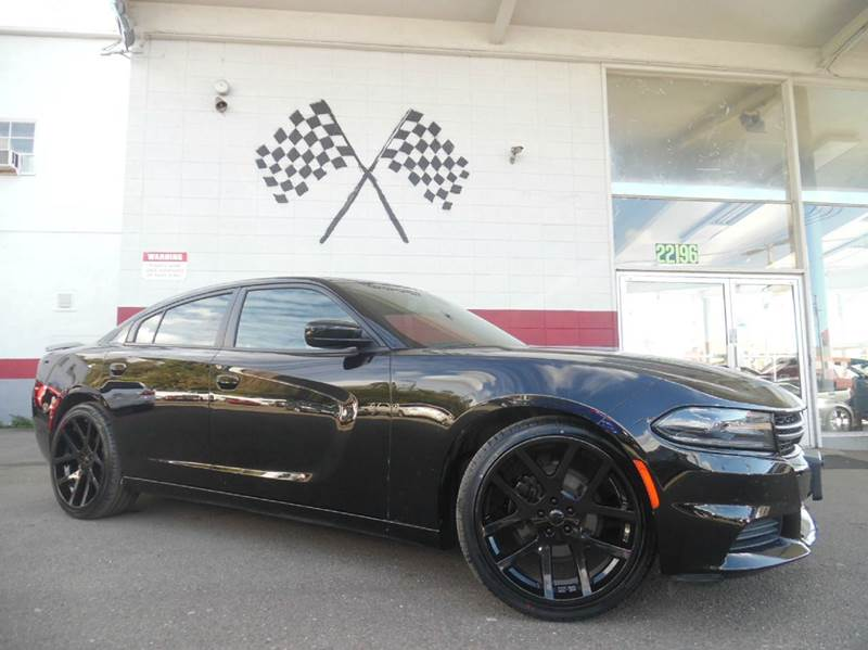 2015 DODGE CHARGER SE 4DR SEDAN black vin 2c3cdxbg7fh771892 great vehicle with tons of space extr