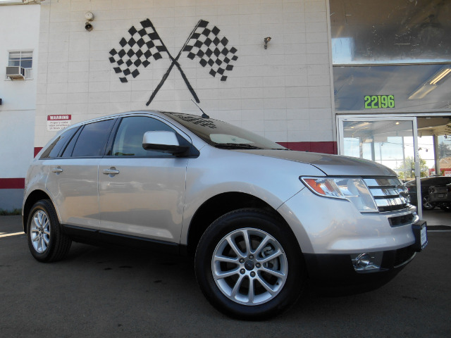 2009 FORD EDGE SEL FWD silver abs brakesair conditioningalloy wheelsamfm radioanti-brake syst