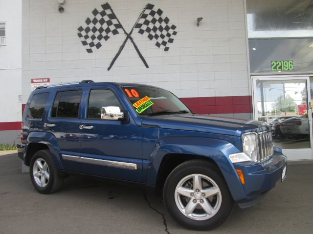 2010 JEEP LIBERTY LIMITED 4X2 4DR SUV blue super clean jeep liberty very nice black leather inte