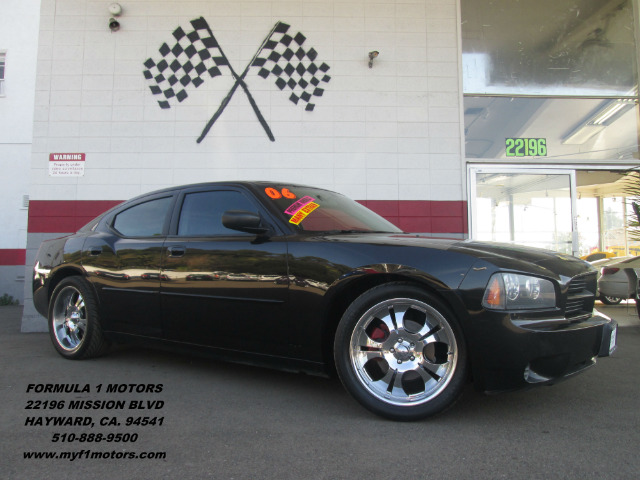 2006 DODGE CHARGER SE 4DR SEDAN black abs - 4-wheel antenna type anti-theft system - engine immo