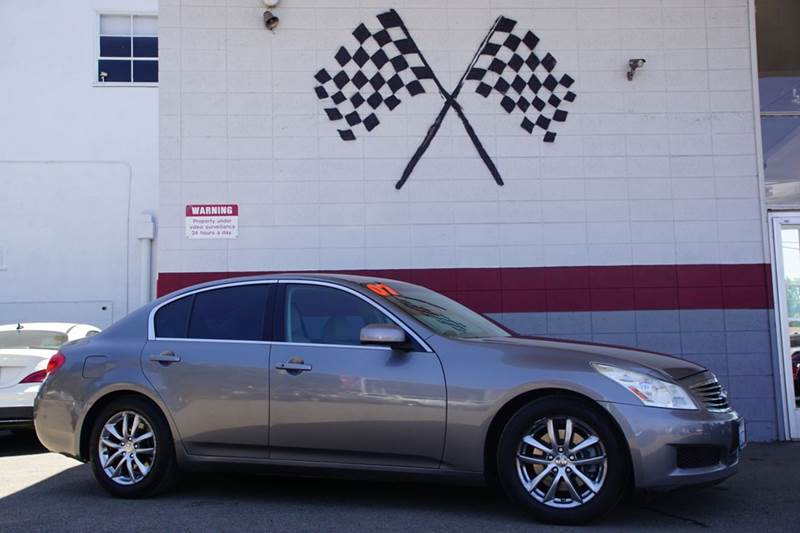 2007 INFINITI G35 BASE 4DR SEDAN 35L V6 5A platinum graphite metallic 2-stage unlocking doors