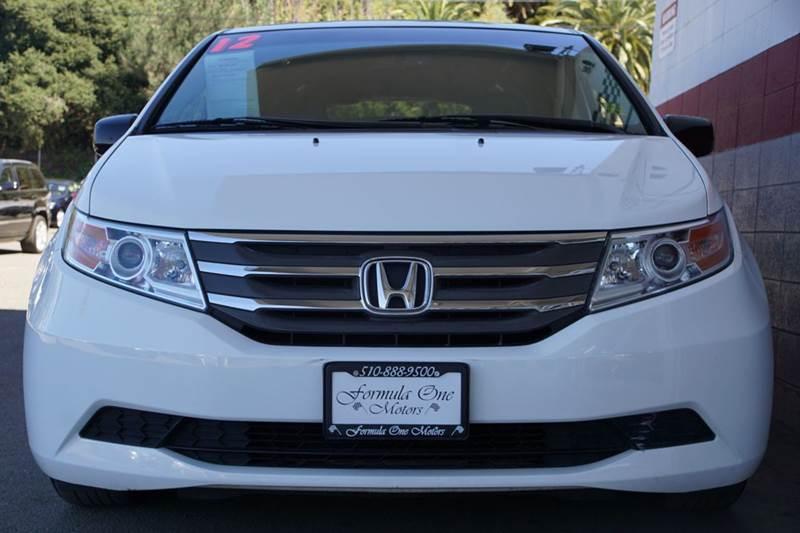 2012 HONDA ODYSSEY EX L 4DR MINI VAN taffeta white built for modern family fun our 2012 honda od