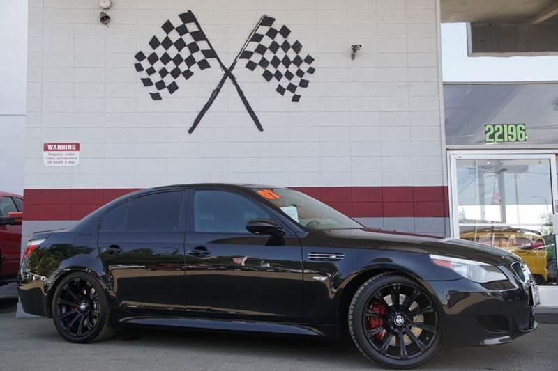 2007 BMW M5 BASE 4DR SEDAN black 2-stage unlocking doors abs - 4-wheel active suspension air f