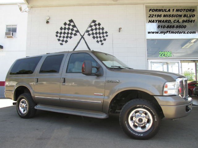 2005 FORD EXCURSION LIMITED 4WD 4DR SUV gray this is the perfect size suv for a big family it has
