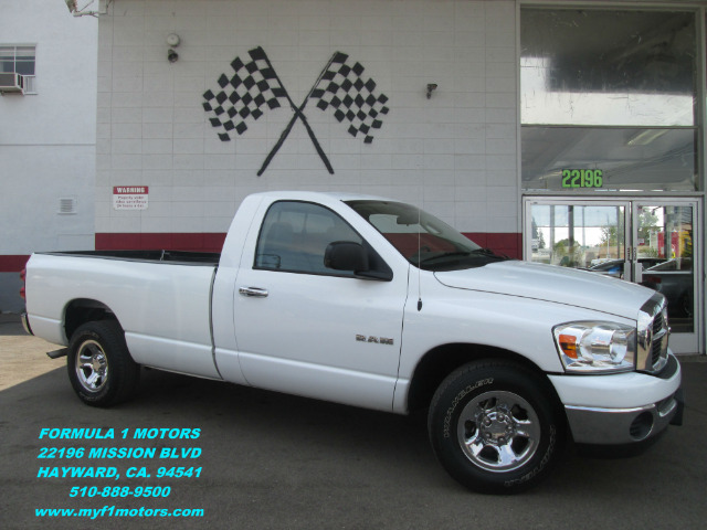 2008 DODGE RAM PICKUP 1500 SLT 2DR REGULAR CAB LB white this is a very nice dodge ram 1500 perfec