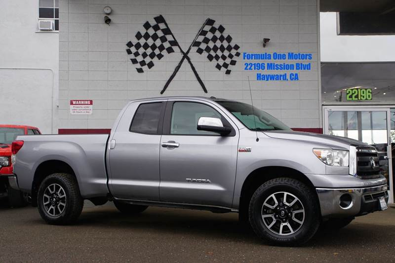 2012 TOYOTA TUNDRA GRADE 4X4 4DR DOUBLE CAB PICKUP silver sky metallic few vehicles command the s