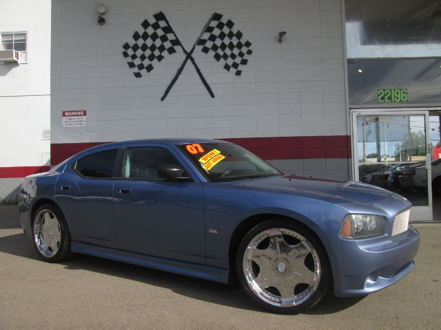 2007 DODGE CHARGER BASE 4DR SEDAN blue this is a really nice dodge charger premium wheels super