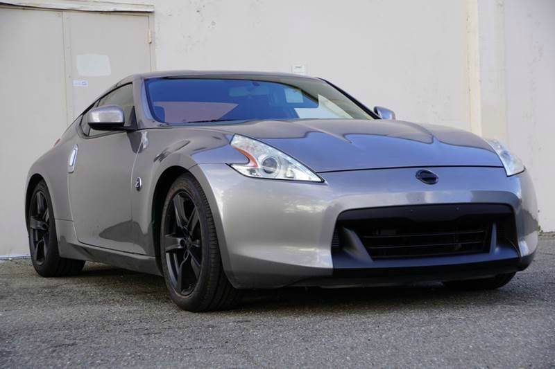 2010 NISSAN 370Z BASE 2DR COUPE 6M platinum graphite metallic abs - 4-wheel active head restrain
