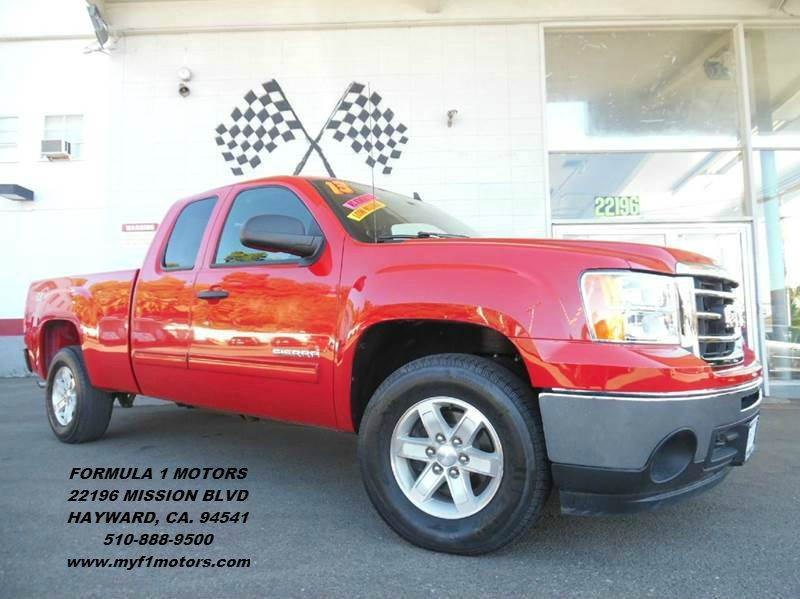 2013 GMC SIERRA 1500 SLE 4X4 4DR EXTENDED CAB 65 FT red this is a very nice gmc sierra only 25k