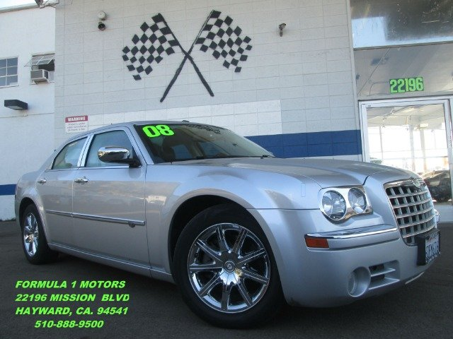 2008 CHRYSLER 300C C silver navigation - leather - dvd entertainment package with all these op