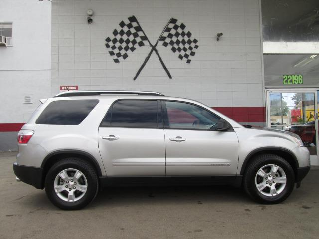 2008 GMC ACADIA SLE-1 4DR SUV silver this is the perfect family suv it has third row seating with