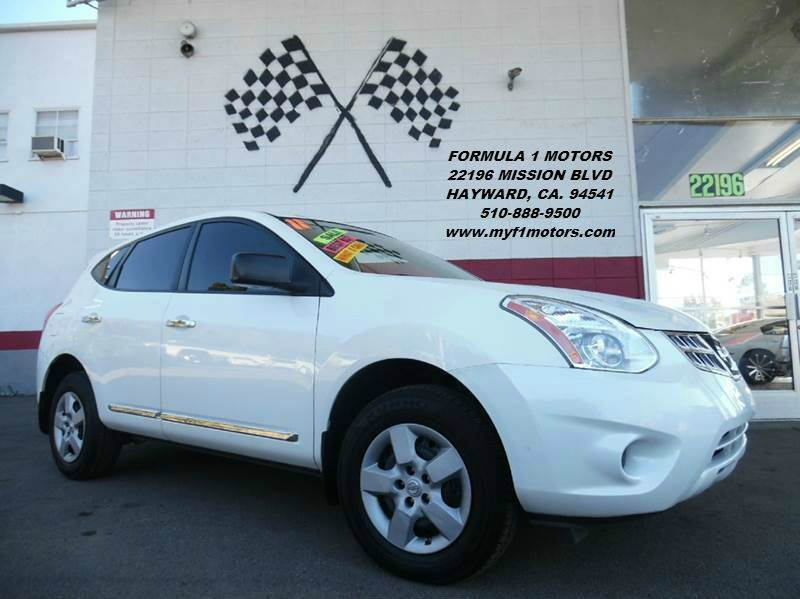 2011 NISSAN ROGUE S AWD 4DR CROSSOVER white this is a very nice nissan rogue awd in perfect cond