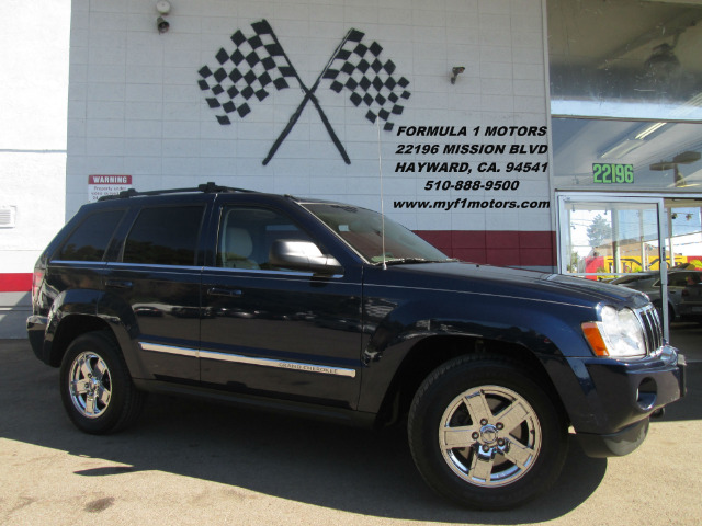 2005 JEEP GRAND CHEROKEE LIMITED 4WD 4DR SUV blue loaded leather - moon roof - navigation