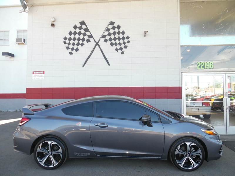 2015 Honda Civic Si 2dr Coupe In Hayward Ca Formula 1 Motors