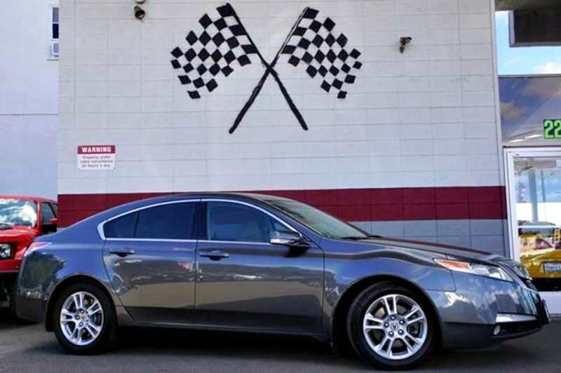 2009 ACURA TL BASE 4DR SEDAN gray admire the sleek head-turning style of our sporty 2009 acura t