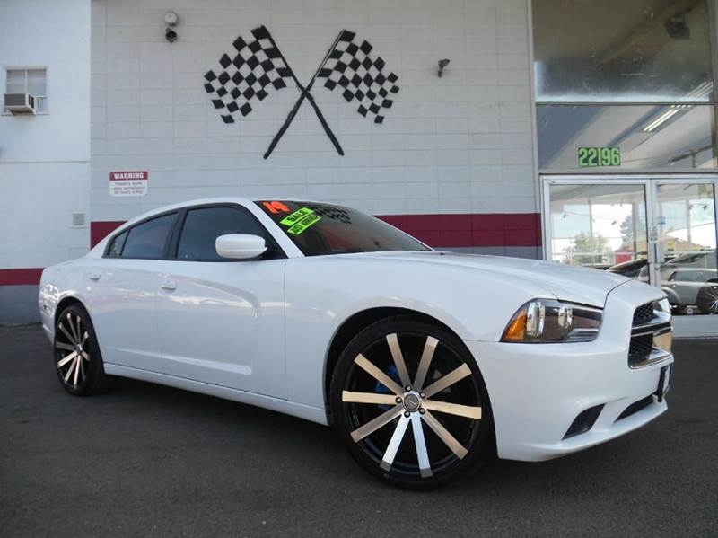 2014 DODGE CHARGER SE 4DR SEDAN white 2-stage unlocking - remote abs - 4-wheel active head rest
