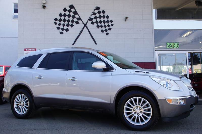 2011 BUICK ENCLAVE CXL 1 4DR CROSSOVER W1XL quicksilver metallic 2-stage unlocking doors abs -
