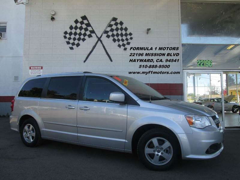 2011 DODGE GRAND CARAVAN CREW 4DR MINI VAN silver 2-stage unlocking - remote abs - 4-wheel adju