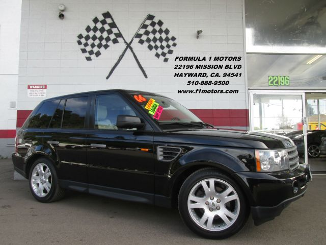 2006 LAND ROVER RANGE ROVER SPORT HSE 4DR SUV 4WD black loaded leather - navigation - moon ro
