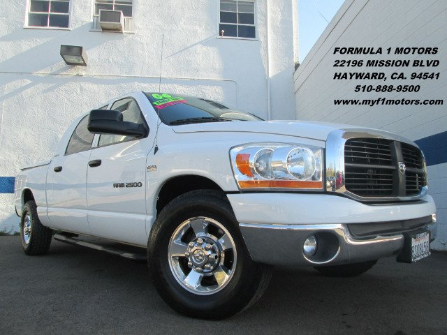 2006 DODGE RAM 2500 SLT MEGA CAB 2WD white abs brakesair conditioningamfm radioanti-brake syst