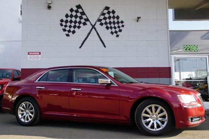 2014 CHRYSLER 300 C 4DR SEDAN deep cherry red crystal pearlc you will be the envy on the block in